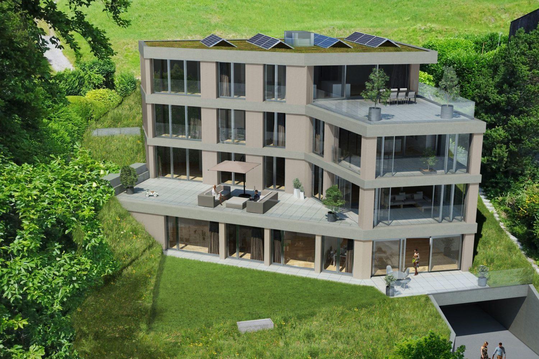 Neubau Mehrfamilienhaus mit 4 Wohnungen